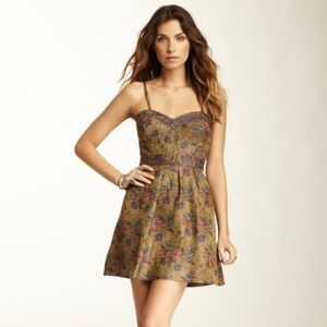 Free People Floral Tapestry Dress